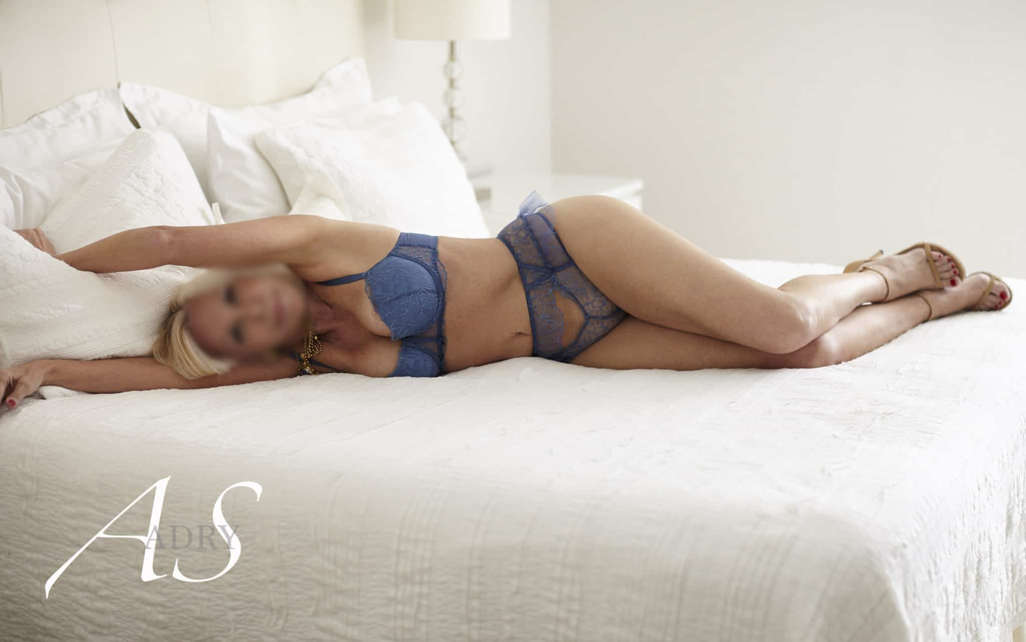 Blue lingerie miami escort