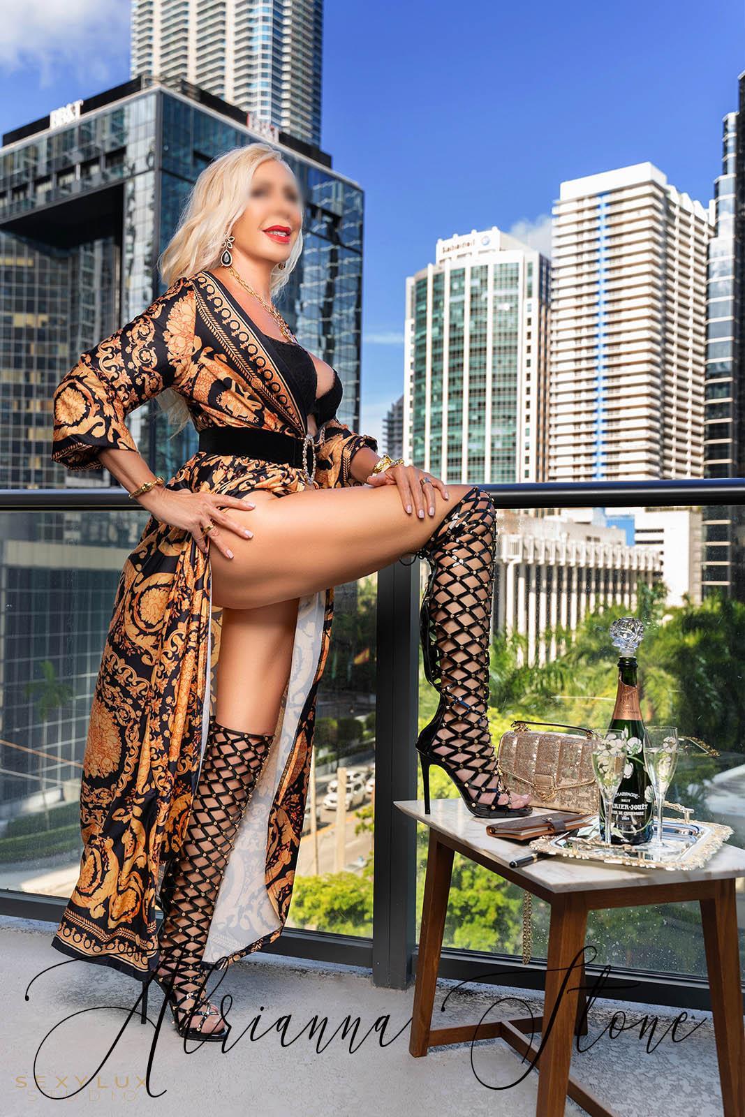 Blonde Mature Miami Escort